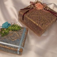 Декоративная коробочка для подарков. Мастер-класс.